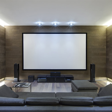 San Diego Home Theater Visual Design & installation