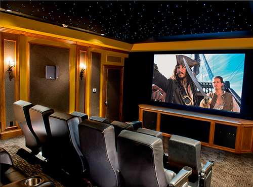 Home theater design & installation services